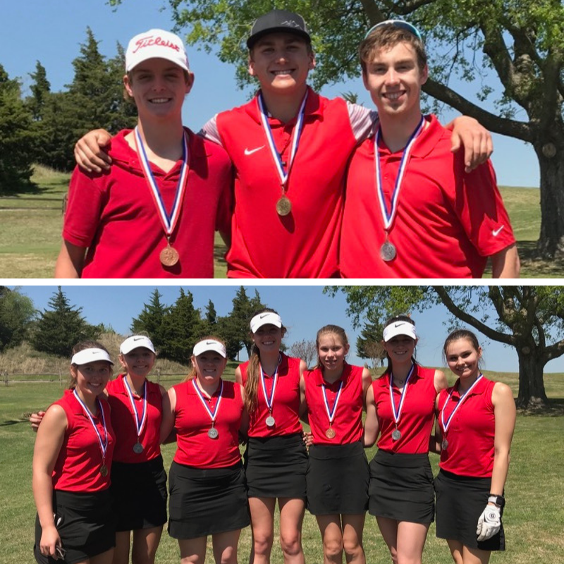 District Golf Results - Regional Qualifiers