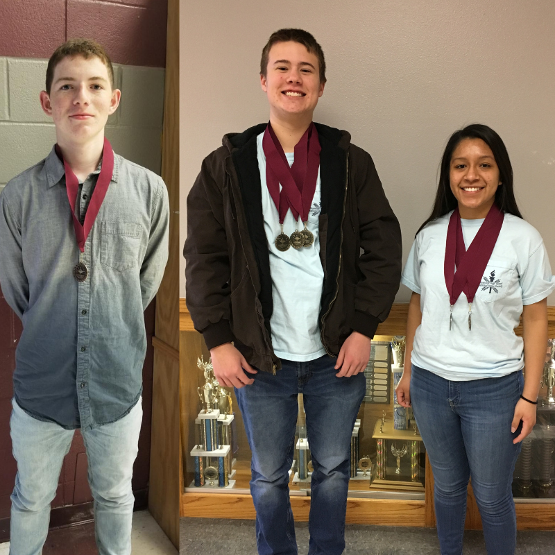 High School Students Compete at Whitesboro UIL Meet